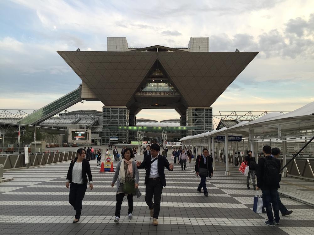 Tokyo Big Sight สถานที่จัดงาน