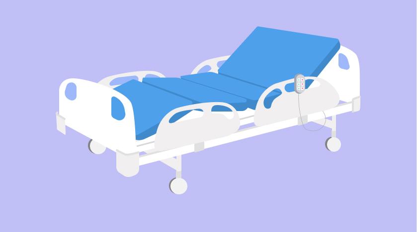 เตียงผู้ป่วยแบบไฟฟ้า